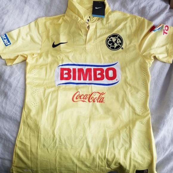 f63570b92d7 Nike Shirts | New Soccer Jersey Club America Size M | Poshmark